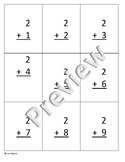 Twos 2s  Addition and Subtraction practice/flashcards (editable)