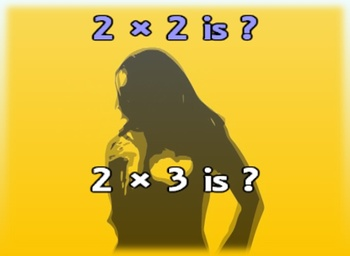 Twos Multiplication Facts - Music Video - Math Song