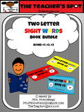 TWO LETTER SIGHT WORD BUNDLE - Books 1,2,3