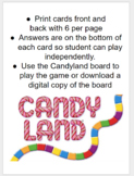 Tx/U.S. History Government: Candy Land
