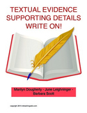 Textual Evidence, Supporting Details- Write On!