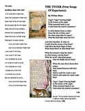 Tyger versus Lamb poetry analysis for Marzano Common Core