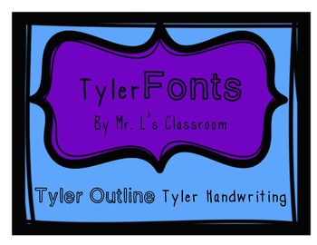 Tyler Fonts Pack - For Personal and Commercial Use