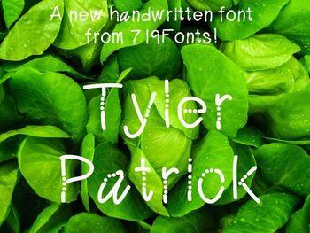 Tyler Patrick FONT
