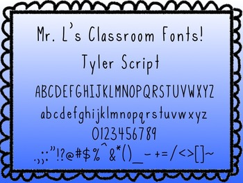 Tyler Script - Free Font for Personal AND Commercial Use!