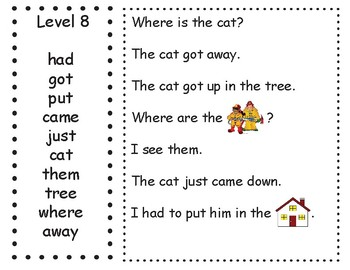 Tyner Sight Words in Context