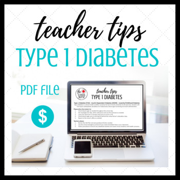 Type 1 Diabetes Information Card PDF