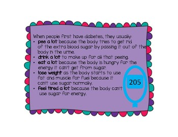 Type 1 Diabetes Posters- Helping kids better understand diabetes
