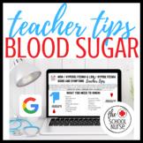 Type 1 Diabetes : Signs & Symptom Low / High Blood Sugar :