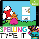 Type It: CVC Words Spelling Kindergarten Reading Google Sl