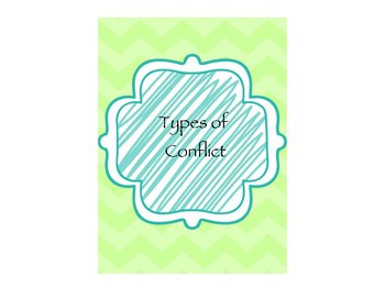 Type Of Conflict Task Cards