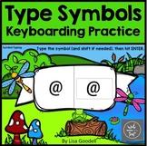 Type Symbols Center - Internet - No Prep BoomCards