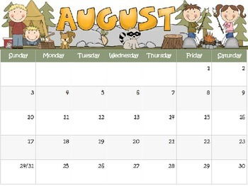 Type Your Own Text Calendar for Kids, Track Reading Minutes