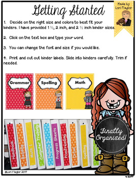 Type and Print Binder Covers