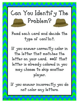 Type of Conflicts - Activity Pack