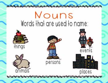 Type of Nouns posters
