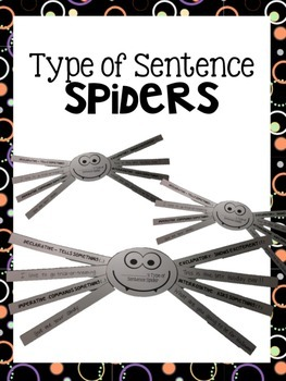 Type of Sentence Spiders