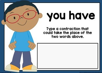 Type the Contraction Boom Cards