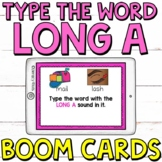 Type the LONG A Word Boom Cards (Digital Task Cards) for G