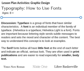 Typography: How to Use Fonts