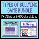 Types Of Bullying Game Bundle - Printable And Digital