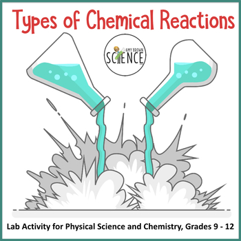 types of chemical reactions by amy brown science tpt. Black Bedroom Furniture Sets. Home Design Ideas