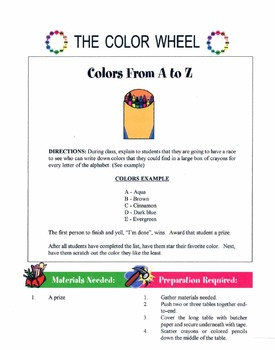 Types Of Colors & The Color Wheel Lesson