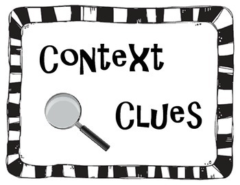 Types Of Context Clues Anchor Chart