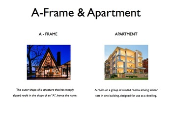 Types Of Housing Styles PowerPoint