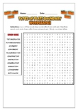 Types Of Plate Boundaries: 2 Science Puzzles: Wordsearch & Word Scramble
