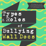 Types and Roles of Bullying Wall Docs