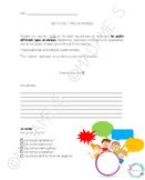 Types de phrases (suite) - Sketch