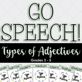 Types of Adjectives GO SPEECH