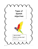 Types of Adjectives in Spanish