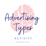 Types of Advertisements Activity and Formative Assessment