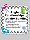 Angle Relationships Activity Bundle