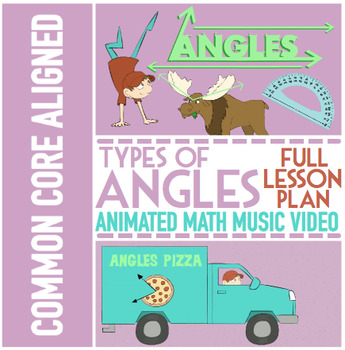 Types of Angles Activity Bundle ★ Multimedia Activities for 4.G.1 and TEK 4.6C