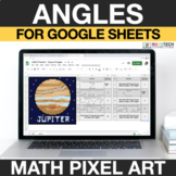Types of Angles Google Classroom | 4th Grade Math Mystery Picture