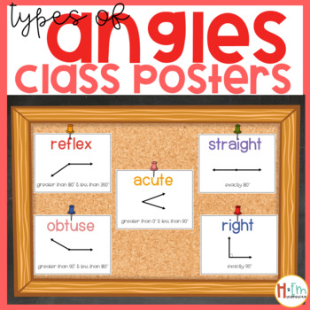 Types of Angles Posters