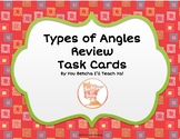 Types of Angles Review Task Cards