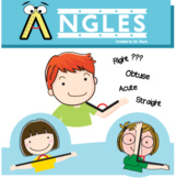 Types of Angles Worksheet (Straight, Acute, Right, Obtuse)