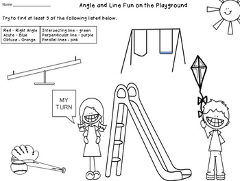 Types of Angles and Lines