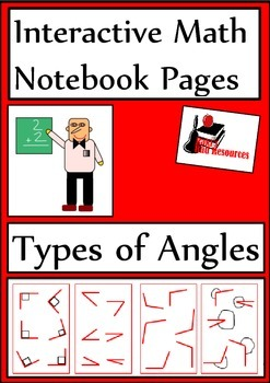 Types of Angles for Interactive Math Notebooks