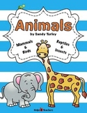 Animals:  Mammals, Birds, Reptiles & Insects