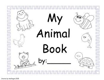Types of Animals Book