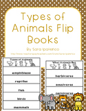 Types of Animals Flip Book Set