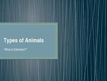 Types of Animals, Lesson 5