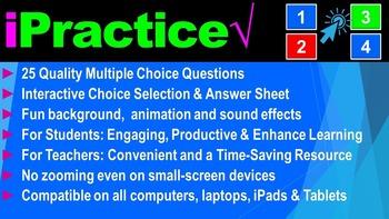 Types of Bonds: iPractice (Interactive PPT Worksheet for Test & Quiz Prep)