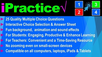 Types of Substances: iPractice (Interactive PPT Worksheet for Test & Quiz Prep)
