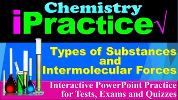 Types of Substances: iPractice (Interactive PPT Worksheet